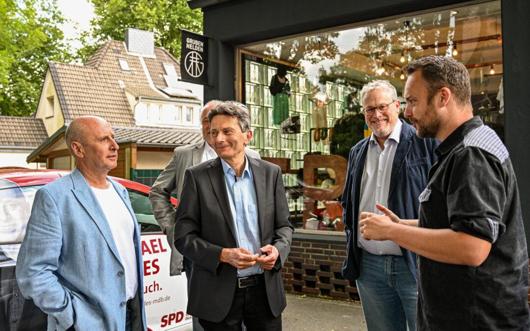 Mit Mützenich, Gerdes & Göddertz auf Tour