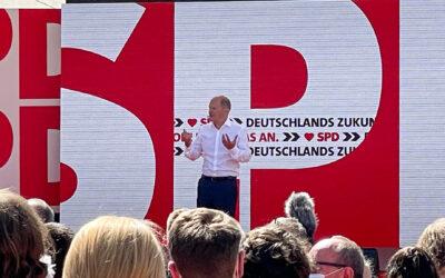 Gelungener Wahlkampfauftakt in Bochum